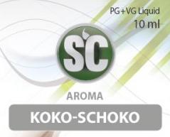 SC E-Liquids - 10ml - Koko Schoko