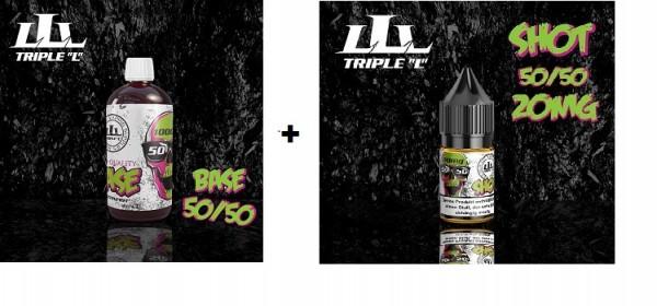 "Triple ""L"" Basen Bundle VPG 50/50, - 1000ml 0mg & 1,5mg - 12mg"