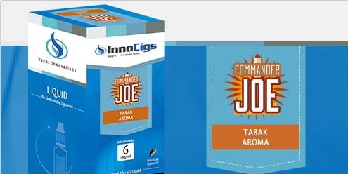 InnoCigs E-Liquids - 10ml - Commander Joe Tabak