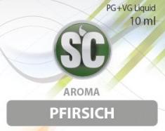SC E-Liquids - 10ml - Pfirsich