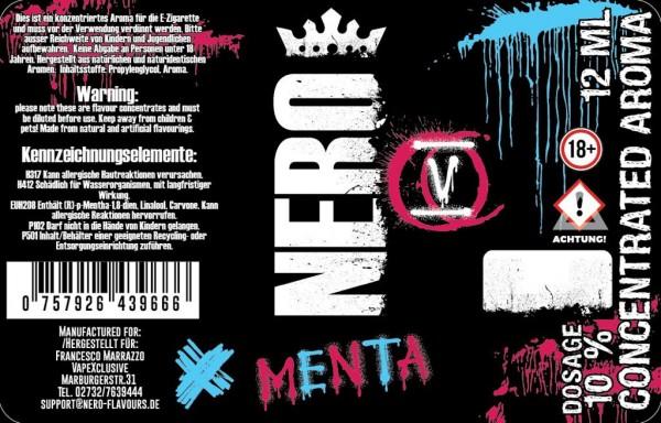 Nero Flavours - 12ml - Mix& Vape - Menta