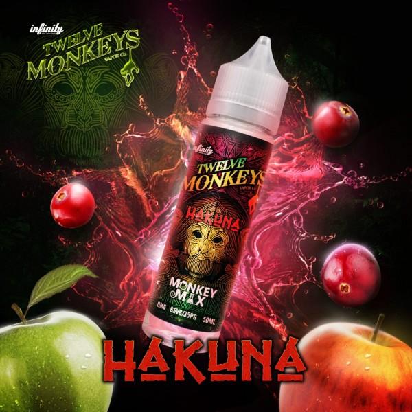 12 Monkeys - 50ml - HAKUNA