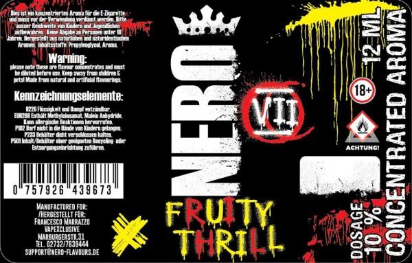 Nero Flavours - 12ml - Mix& Vape - Fruity Thrill