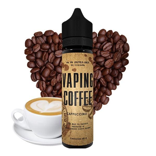 VOVAN Liquids - 50ml - Vaping Coffee Cappuccino