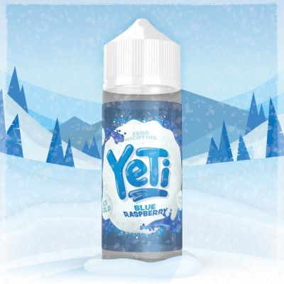 YETI - 100ml - BLUE RASPBERRY