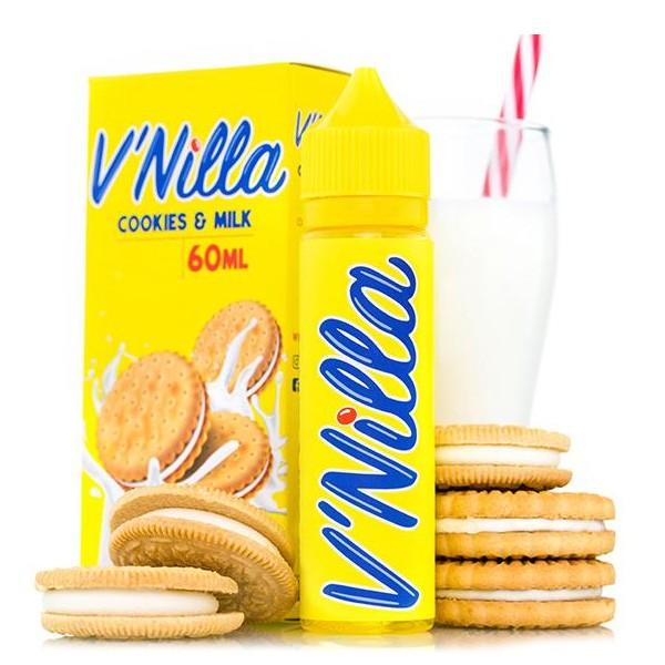 V`NILLA - 50ml - Cookies & Milk