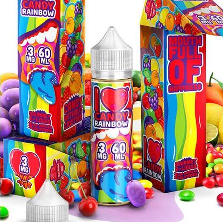 MAD HATTER JUICE - 50ml- I love Candy Rainbow