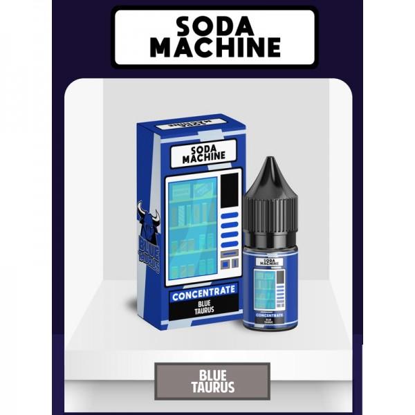 Flava Mall - Soda Machine - Blue Taurus