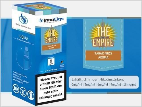 InnoCigs E-Liquids - 10ml - Tabak Nuss - The-Empire