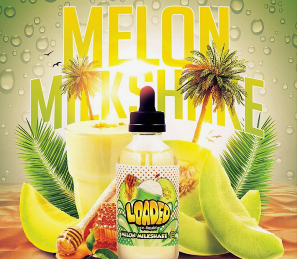 Loaded - 100ml - Melon Milkshake