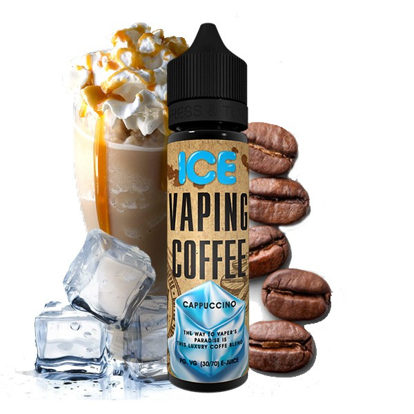 VOVAN Liquids - 50ml - Vaping Coffee Cappuccino Ice