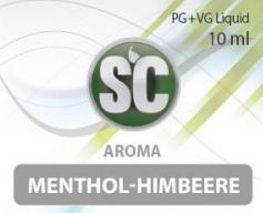 SC E-Liquids - 10ml - Menthol Himbeere