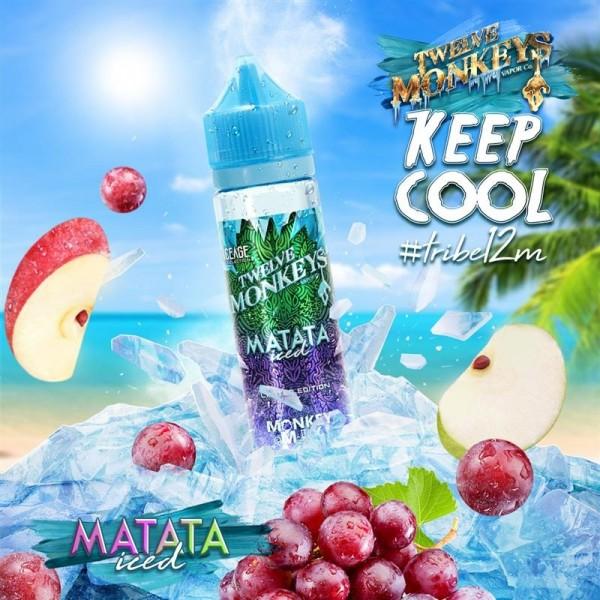 12 Monkeys - 50ml - Ice Age - Matata Iced