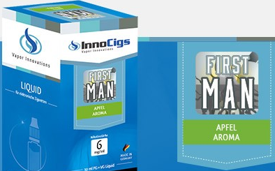 InnoCigs E-Liquids - 10ml - First Man - Apfel