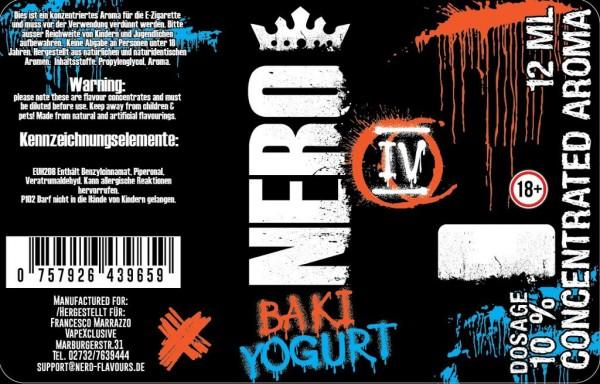 Nero Flavours - 12ml - Mix& Vape - Baki Yogurt