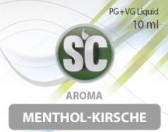 SC E-Liquids - 10ml - Menthol Kirsche