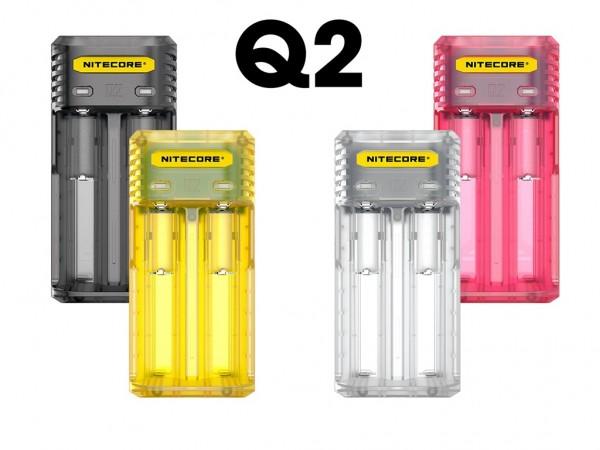 Nitecore Q2 - Ladegerät für Li-Ion-Akkus