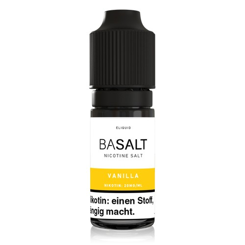 Basalt - NicSalt Liquid - 10ml - 20mg - Vanilla