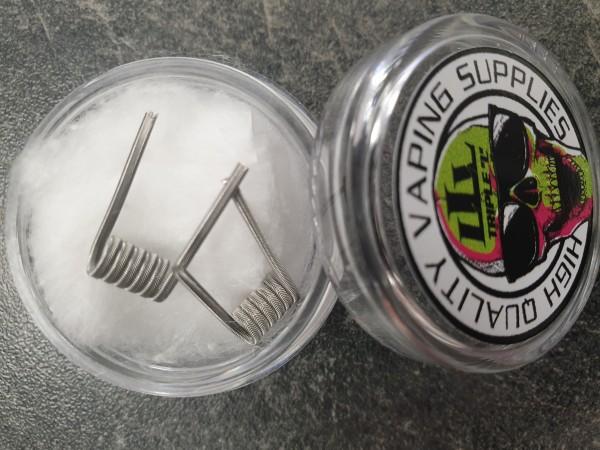 Triple L - 2er Pack - Alien/SS316L - HandmadeCoils
