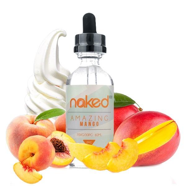 Naked 100 - 50ml - Amazing Mango