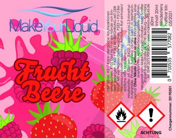MakeYourLiquid - 20ml - Frucht Beere