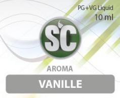 SC E-Liquids - 10ml - Vanille