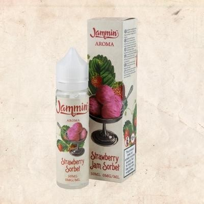 Jammin - 50ml - STRAWBERRY JAM SORBET