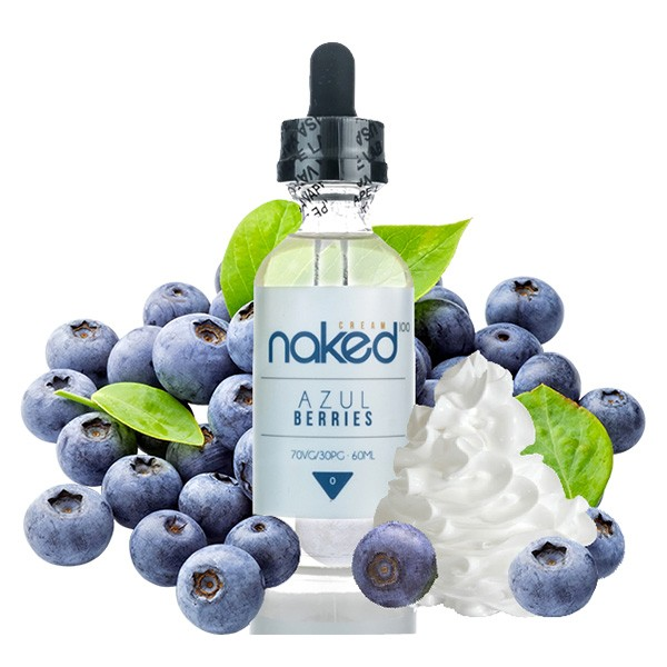 Naked 100 - 50ml -Cream Azul Berries