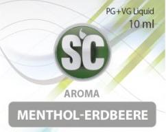 SC E-Liquids - 10ml - Menthol Erdbeere