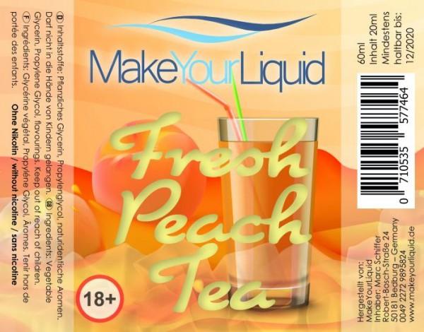 MakeYourLiquid - 20ml - Fresh Peach Tea