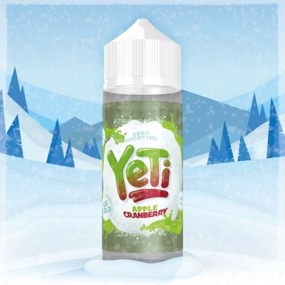 YETI - 100ml - APPLE CRANBERRY