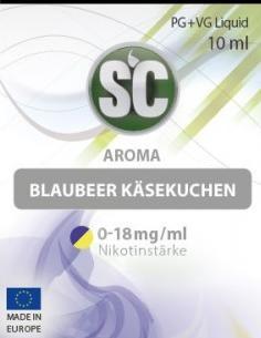 SC E-Liquids - 10ml - Blaubeer Käsekuchen