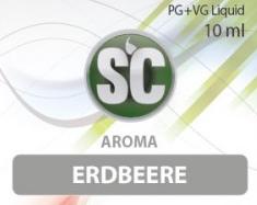 SC E-Liquids - 10ml - Erdbeere