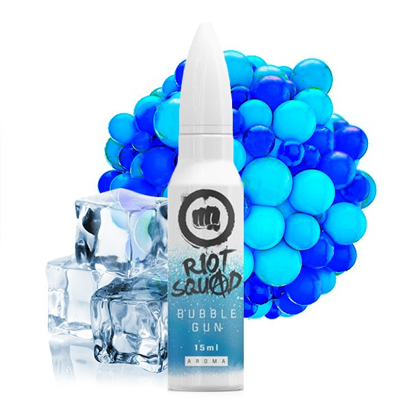 RiotSquad - 15ml - Mix& Vape - Bubble Gun