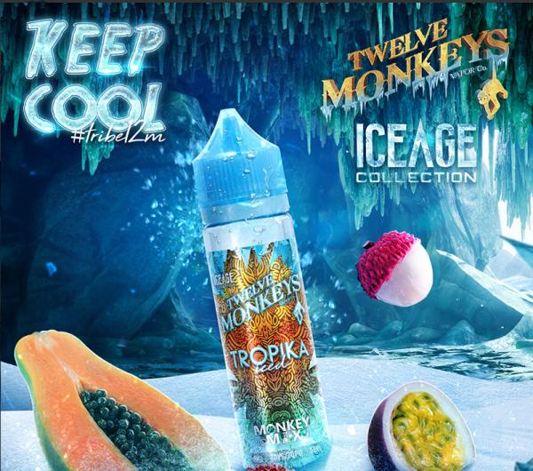 12 Monkeys - 50ml - Ice Age - Tropika Iced