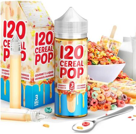 MAD HATTER JUICE - 100ml - I love 120 Cereal Pop