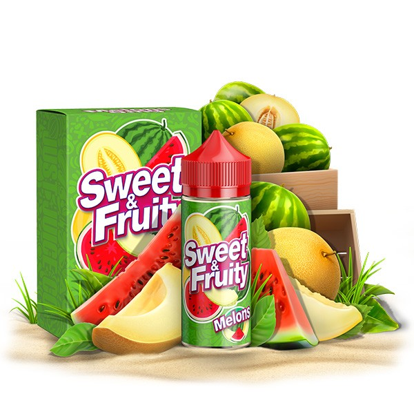 SWEET & FRUITY - 100ml - Melons