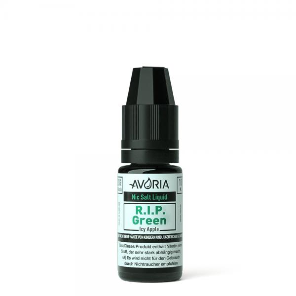 Avoria - NicSalt Liquid - 10ml - 20mg - R.I.P. Green