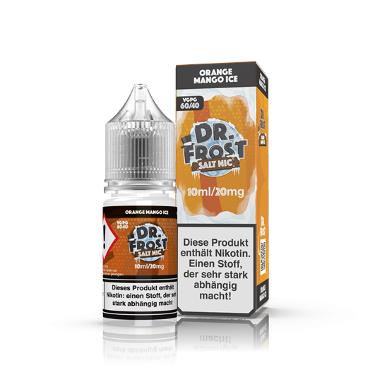 Dr. Frost - NicSalt Liquid - 10ml - 20mg - Orange Mango
